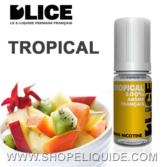 E-LIQUIDE DLICE TROPICAL